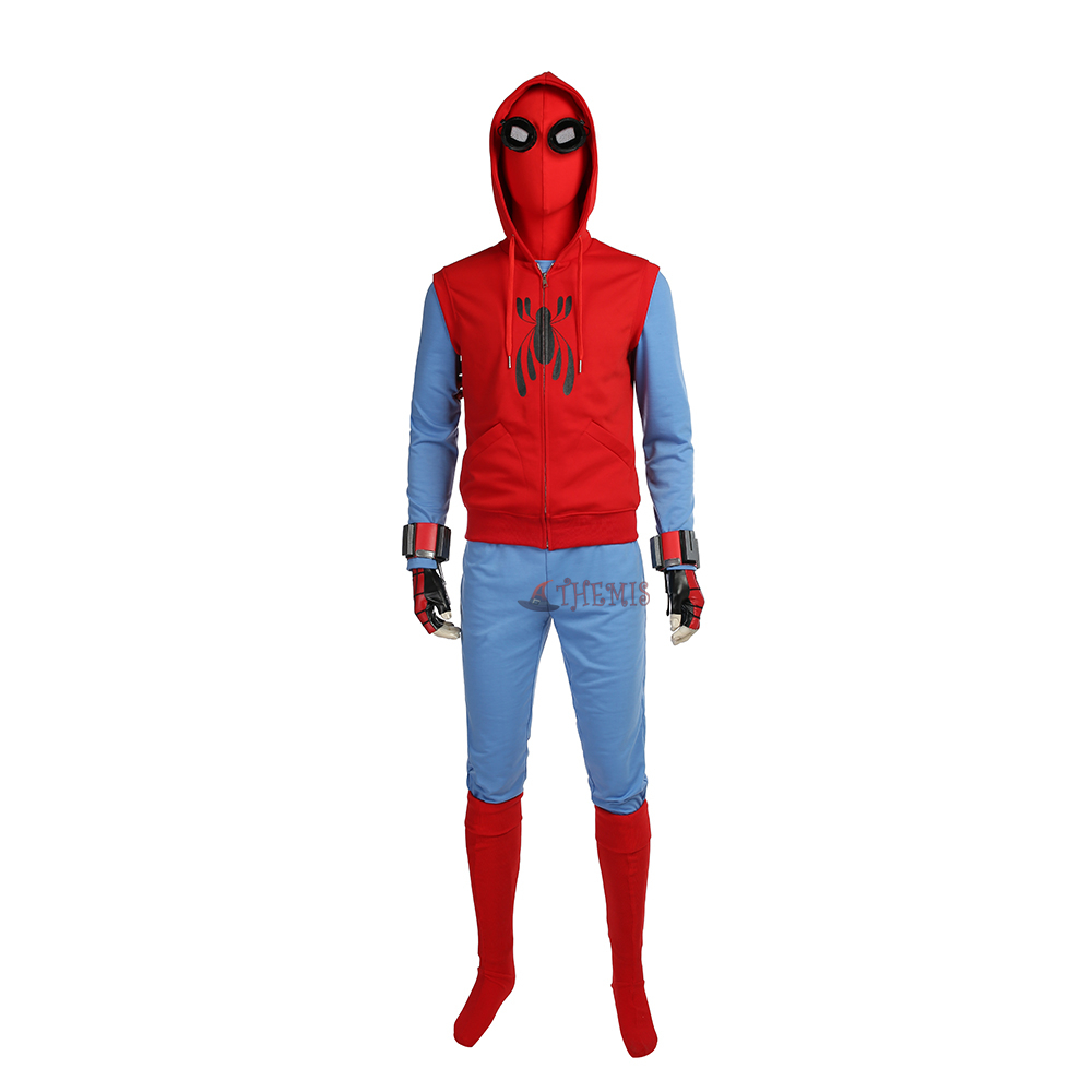 Athemis 2017 Spider-Man Homecoming Cosplay Costume 3D Printed Spiderman  Bodysuit Custom Made