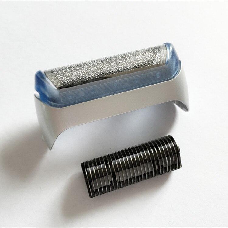Barbeador Folha para BRAUN Shaver Cutter & 20 S 20 S Z20 Z40 Z60 180 190S-1 5728 57292865 2866 2874 2876 Máquina de Barbear Navalha Malha Grade Lâmina