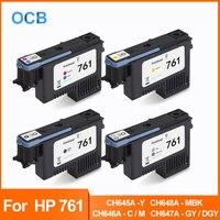 Für HP 761 Druckkopf Druckkopf Für HP Designjet T7100 T7200 Drucker CH645A Y CH646A C/M CH647A GY/DGY CH648A MBK druckkopf Drucker-Teile Computer und Büro -