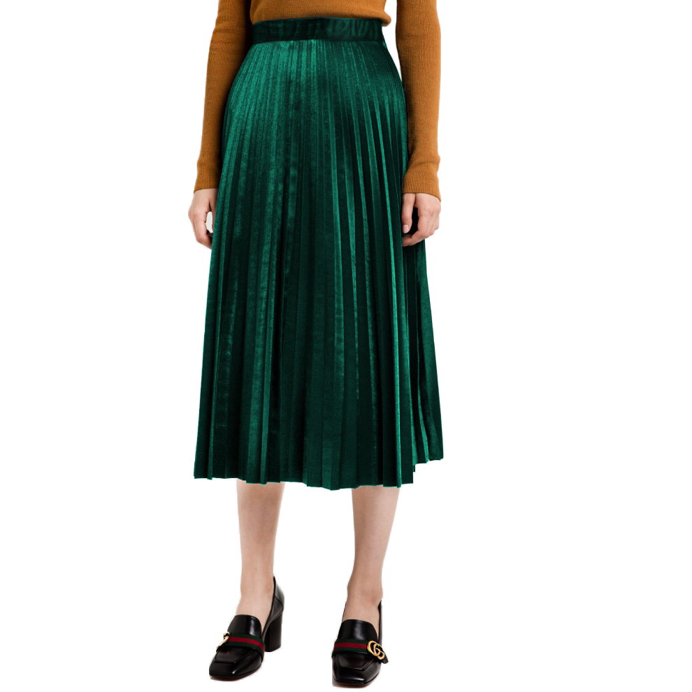 popular green velvet skirt buy cheap green velvet skirt