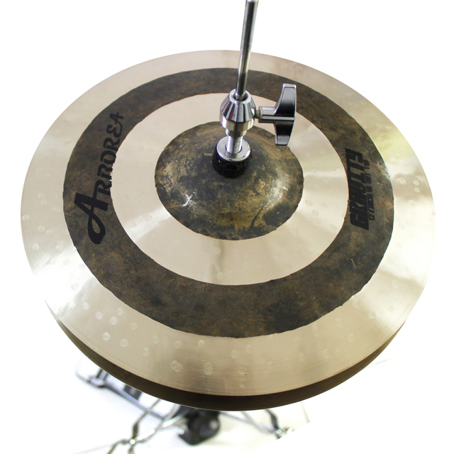 Arborea Cymbals Gravity Series set 14''hihats+16''crash+20''ride with carrying bag