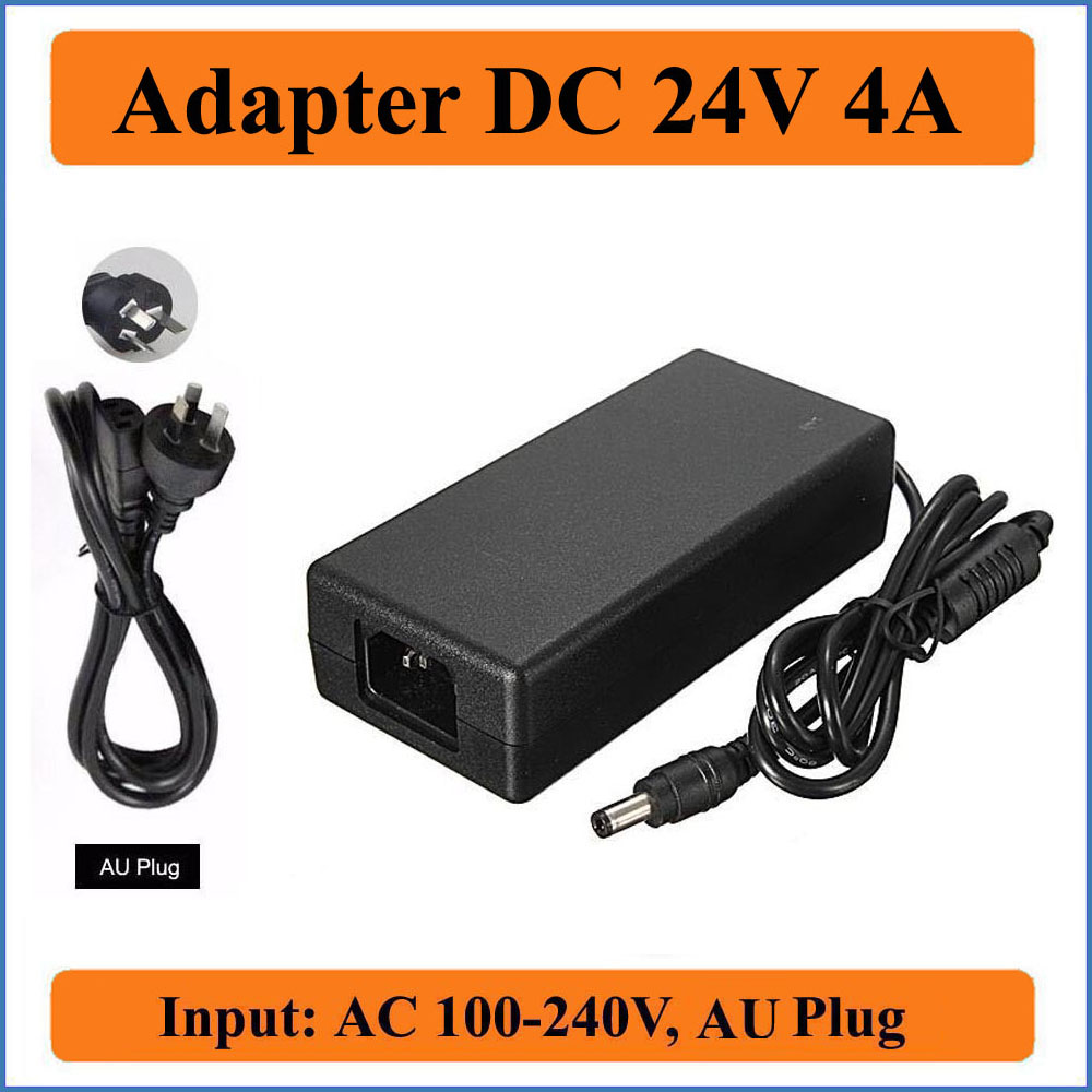 все цены на 24V 4A AU Plug AC DC Adapter AC Universal 100V-240V to DC 24V 4000mA 96W Power Supply Charger Converter Adapter For LED strips