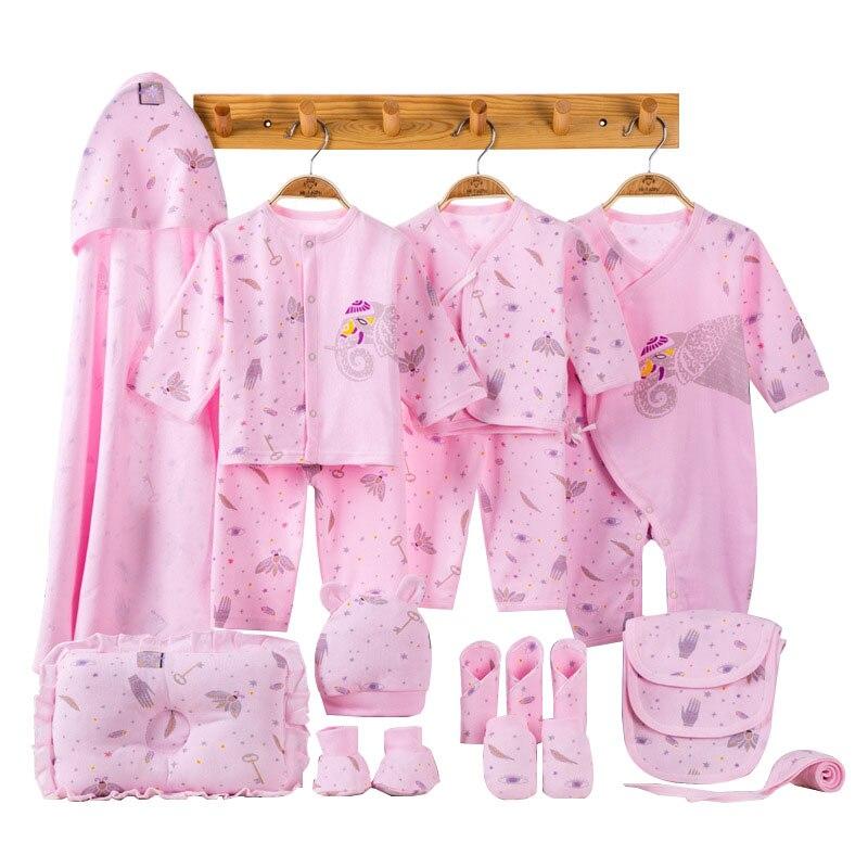 Elephant Newborn Baby Girl Clothes Cotton Print New Born Baby Boy Clothes Infant Clothing Baby Outfit Newborn Set