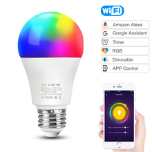WiFi inteligentna żarówka LED żarówka E27 8W 9W 10W 12W A60 PIR czujnik ruchu LED lampka nocna lampa na domowy korytarz oświetlenie ogrodowe 220V