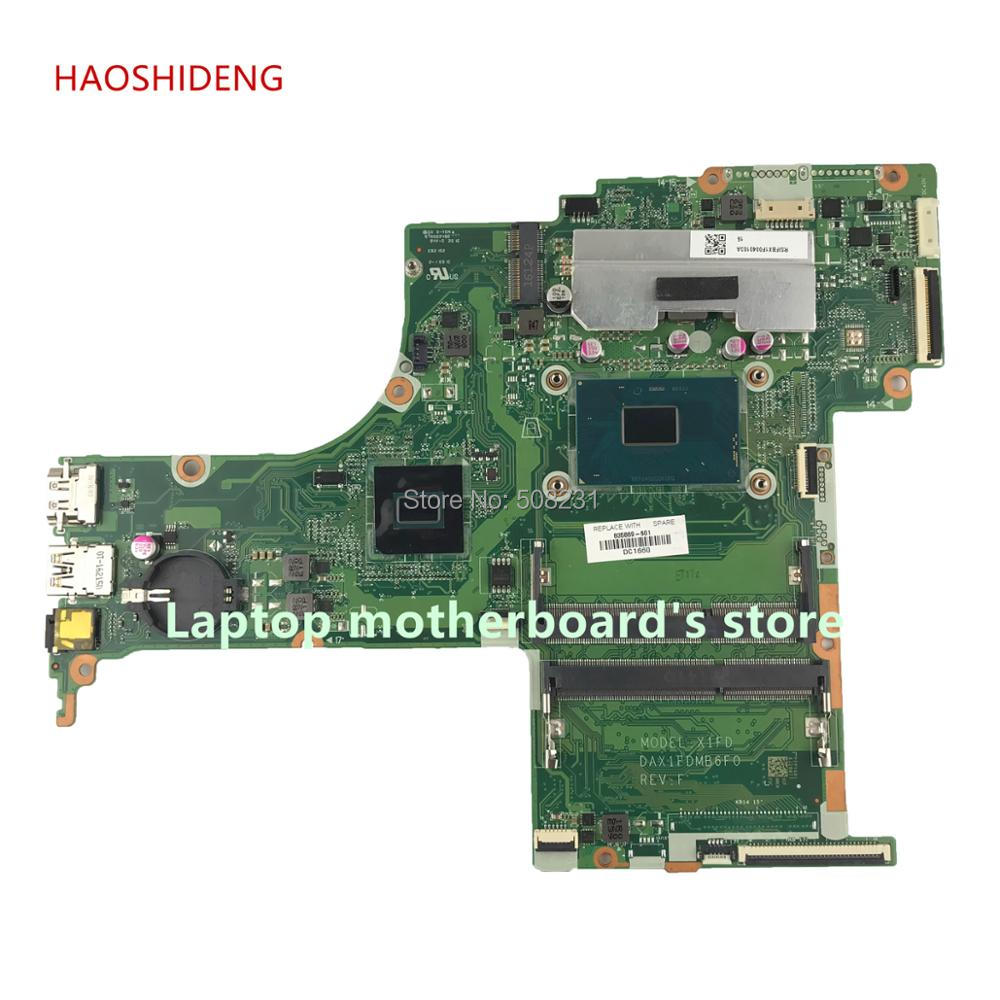 HAOSHIDENG X1FD DAX1FDMB6F0 835869-601 mainboard for HP ENVY Notebook 17-G 17-S 17T-S Laptop motherboard with i7-6700HQ HM170 haoshideng 856765 601 856765 001 448 08g03 0011 mainboard for hp notebook 17 y 17z y 17 y088cl laptop motherboard with a8 7410