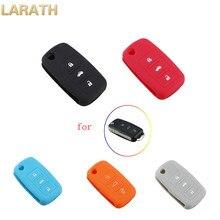 LARATH 3 Buttons Colorful Car Key Silicone Case for Volkswagen VW Golf Passat Polo Jetta Touran Bora Sharan