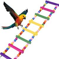 1pc Drawbridge Colorful   Bird   Suspension Bridge Swings Ladders for Pet Training Pet   Bird     Supplies     Bird   Toy for Parrot