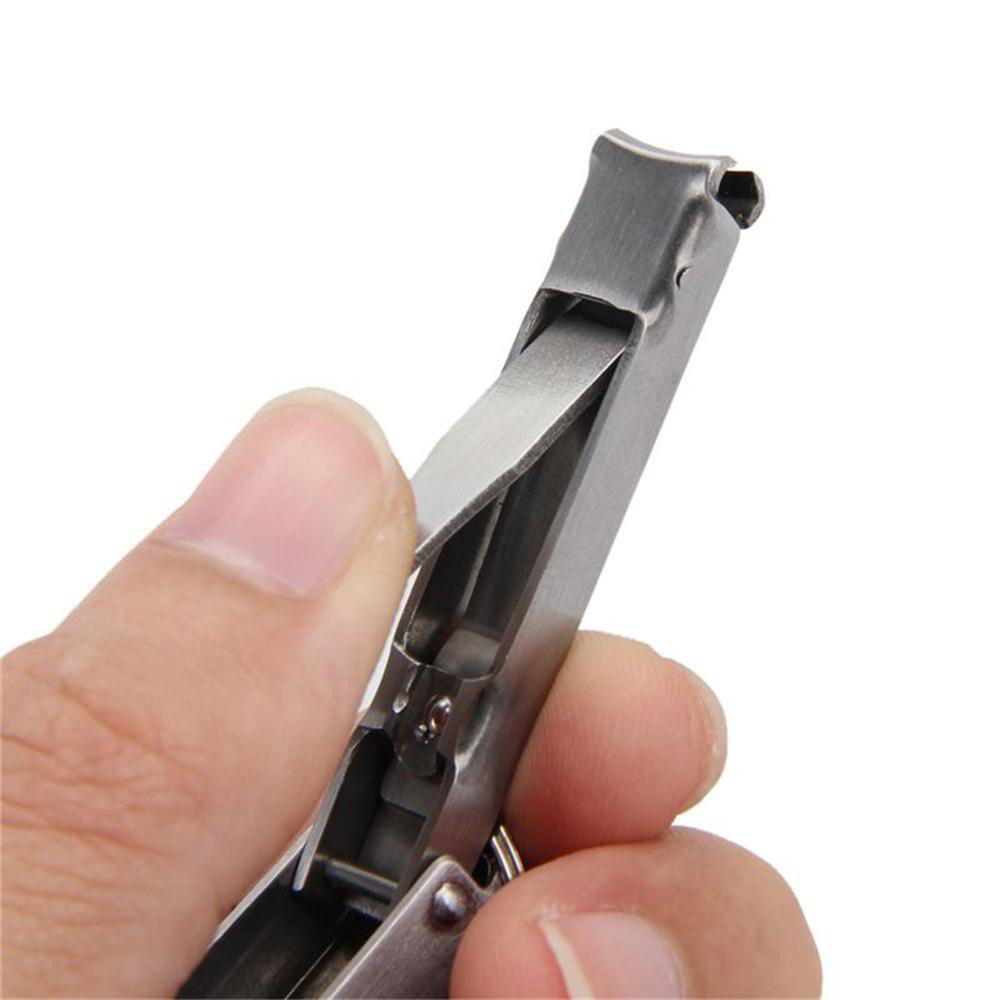 1pcs Multifunctional Creative Bottle Opener Ultra-Thin Nail Clipper 2-In-1 Nail Clipper Keychain Convenient House Gadgets Tools