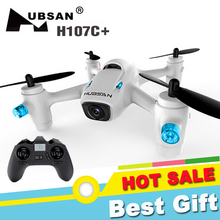 Hubsan X4 H107C+ Drone 2.4G 4CH 6 Axis High Hold Mode RC Quadcopter with 720P Camera RTF