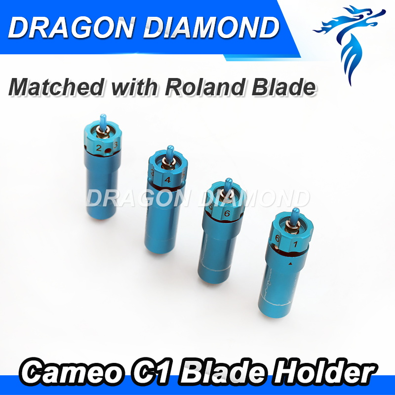 High quality Cutter Blade Holder C1 silhouette cameo craftrobo Matched Roland blade for Cutting plotter blade holder with self oil feeder for glass cutting cutter