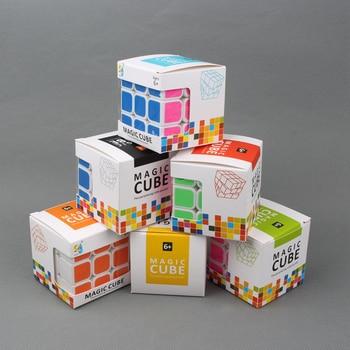 Filete corrida 3x3x3 professional cubo mágico competição velocidade cubos de quebra-cabeça brinquedos para crianças crianças cubo jogo-específico 6 cores