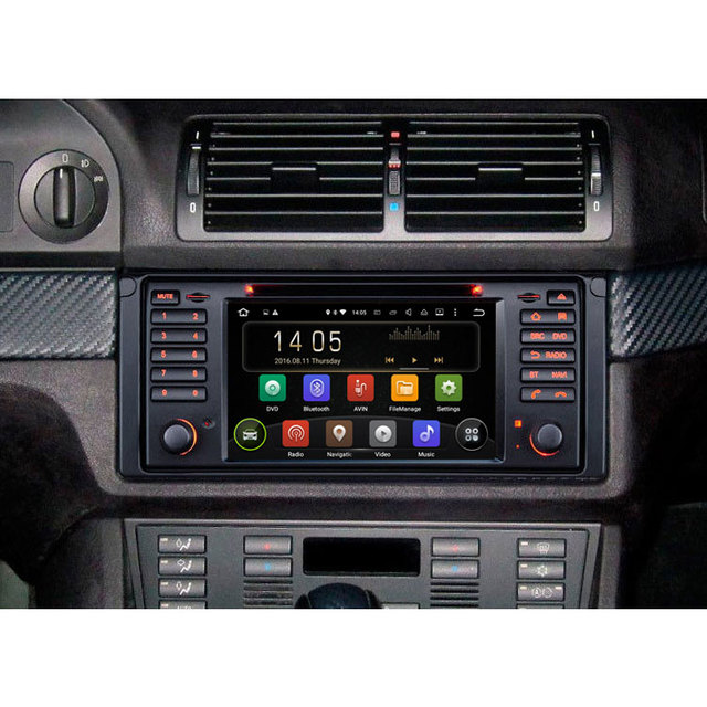 android 7 1 os in car multimedia system for bmw e39 e53 x5. Black Bedroom Furniture Sets. Home Design Ideas