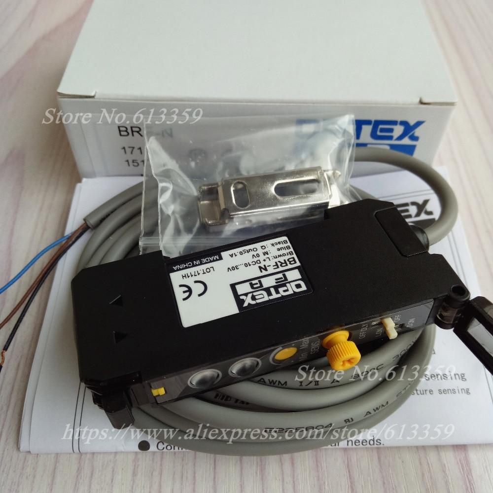 OPTEX Optical Fiber Amplifier Sensors BRF-N NPN ( Replace VRF-N ) 100% New  Original NF-DB01 Optical Fiber CableOPTEX Optical Fiber Amplifier Sensors BRF-N NPN ( Replace VRF-N ) 100% New  Original NF-DB01 Optical Fiber Cable