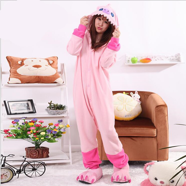 caef4c3f8 New Arrival Women s Character Stitchy Onesie Full Sleeve Hooded ...