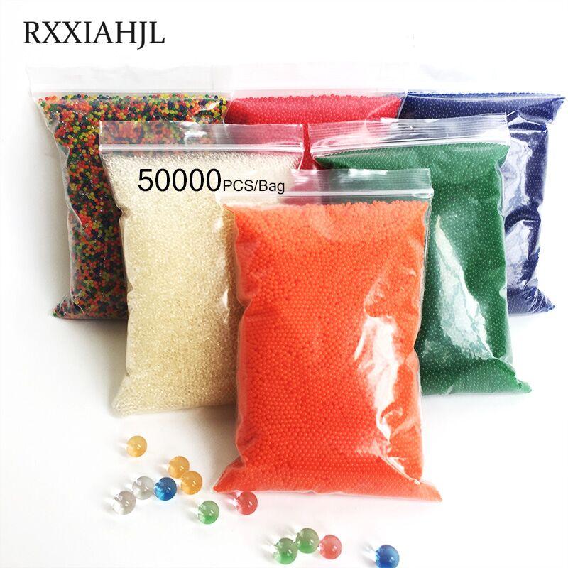 50000pcs Hydrogel Balls Growing Water balls,Beads Crystal Gel Water , Beads Grow,Water Growing ball,Crystal Soil