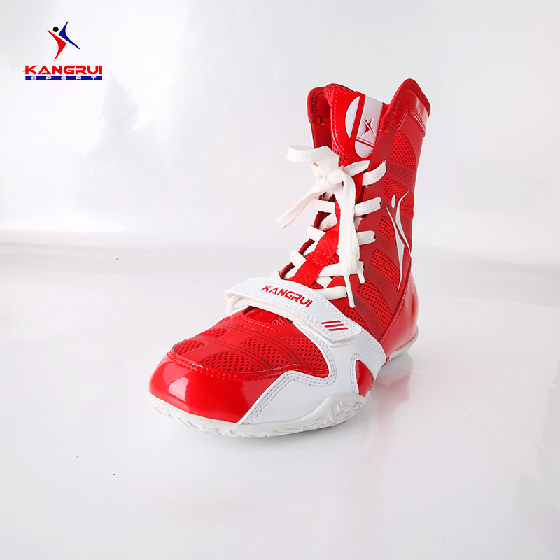 Wrestling shoes for men and women training shoes tenis feminino de boxe leather sneakers professional boxing