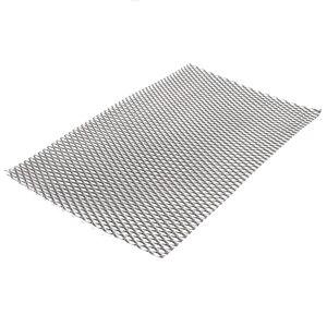 Image 2 - 1pc Mayitr מעשי מתכת טיטניום רשת גיליון חום קורוזיה התנגדות כסף מחורר צלחת מורחבת 200mm * 300mm * 0.5mm