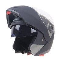 Full face helmet motorcycle double visor racing motorcyclist motocross flip up helmet