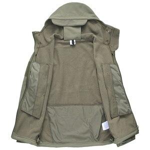 Image 5 - Veste tactique militaire pour hommes, V5.0, veste de marque Lurker peau de requin, manteau coupe vent étanche, de marque, livraison directe