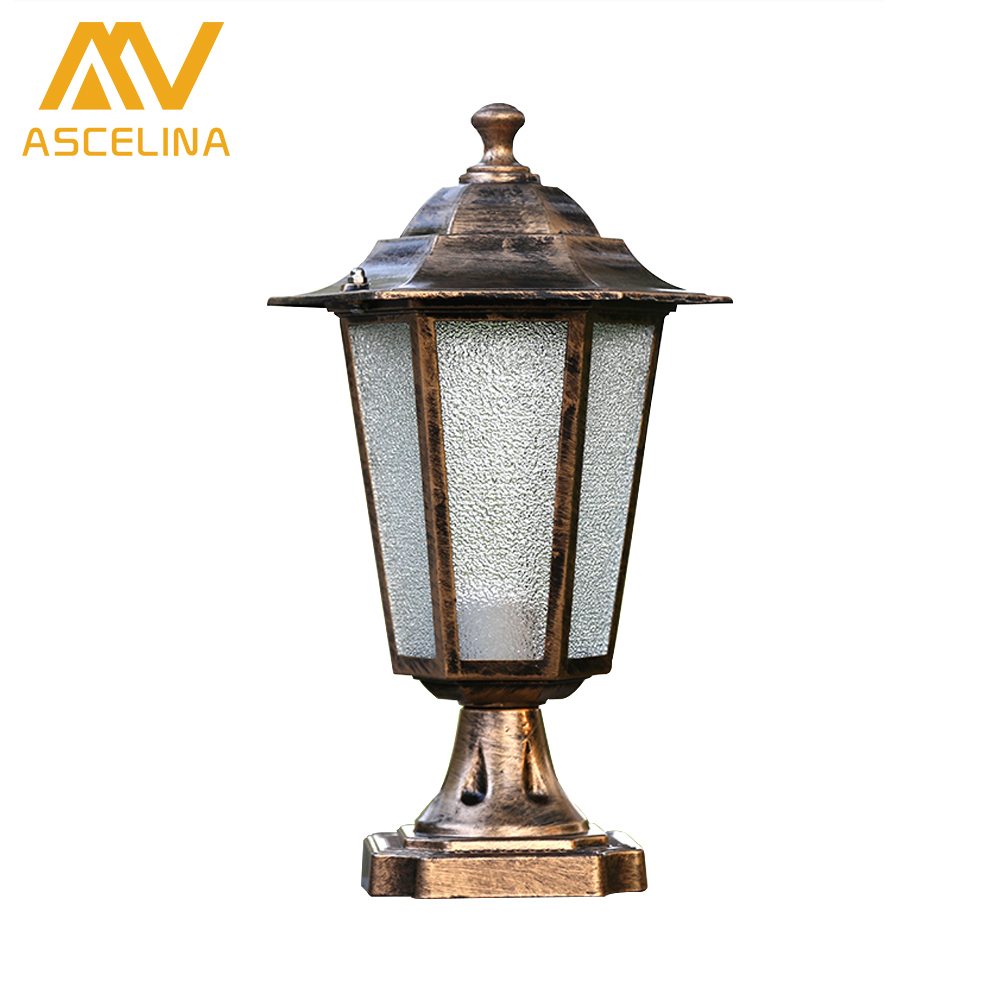 Ascelina Retro Outdoor Lighting Wall Lamps Led Waterproof Black Outdoor Lighting Fixtures Stigma Lights Porch Light