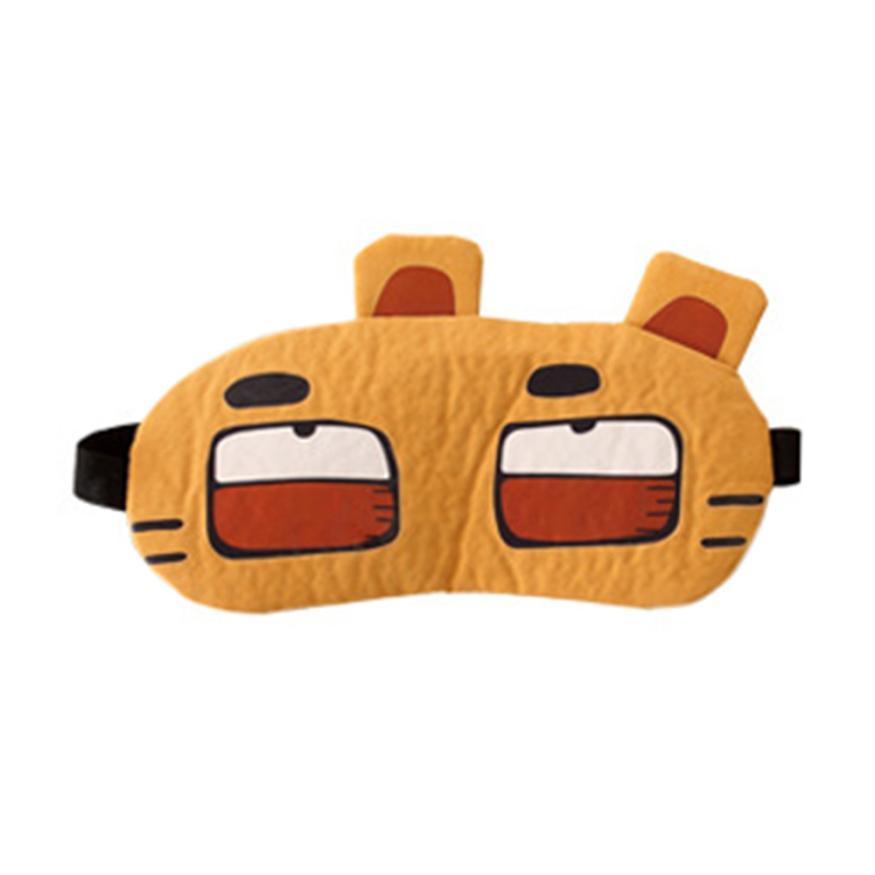 Cute Eye Mask Soft Padded Sleep Travel Shade Cover Eye mask 4