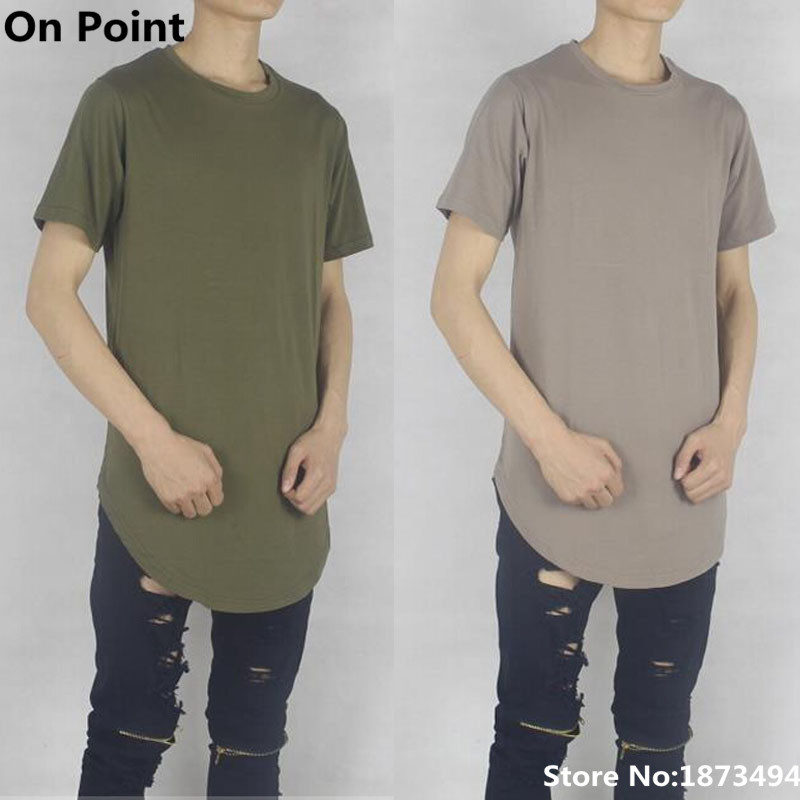 USA size summer style curve bottom mens oversized olive green and ...