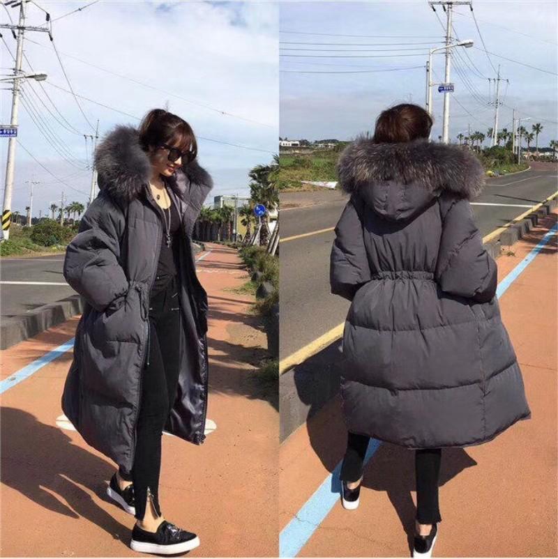 Z1802009   down     coat   female jacket women women's blend   coat   Long Winter Warm   Coat   Women Ultra Light 90% White Duck Jackets