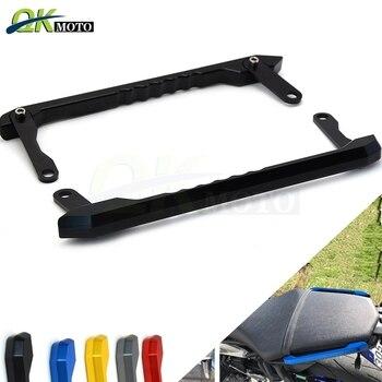 Motorcycle Rear Passenger Pillion Seat Hand Handle Grab Bar Rail Aluminum For Yamaha MT09 FZ09 FZ MT 09 MT-09 FZ-09 2014 - 2016