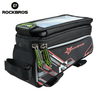 ROCKBROS Bicycle Bag For 6 0 5 8 Phone IPhone 6 Cycling MTB Road Bike Front