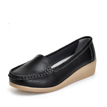 Sorrynamลำลองผู้หญิงรองเท้าหนังแท้Zapatos Casualesแบรนด์หรูรองเท้าผู้หญิงลื่นบนC Haussureเด็กหญิงSapato Feminino