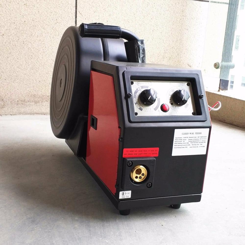 Professional 350A Wire Feeder System DC24v 4 Rolls 0.8-1.6mm Feed Rolls 300mm Spool Remote Control of MIG MAG Welding Machine все цены