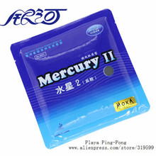 2x Original yinhe Mercury 2 table tennis rubber 9021 for table tennis rackets blade racquet ping pong rubber pimples in(China)
