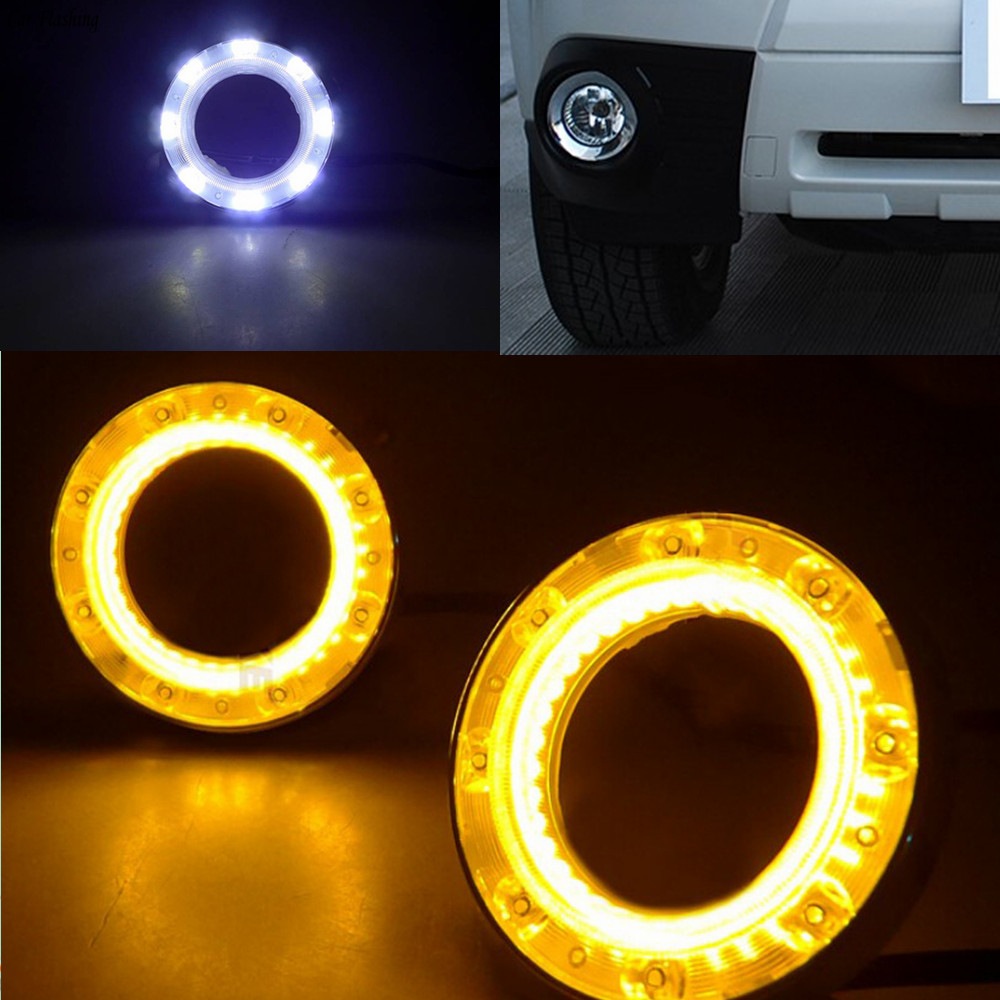 Car Flashing 1set For Subaru Forester 2009 2010 2011 2012 DRL Daytime driving Running Lights Relay