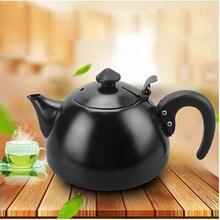 1L Elegante Mode Induktion Nutzung Tee Topf Joint Cover Design Edelstahl Wasserkocher Tee Wasserkocher Kostenloser Versand