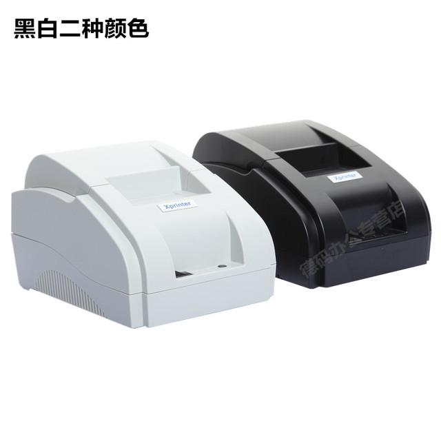 Envío gratis Usb cigarette puerto 90 mm/s original 58mm impresora térmica de recibos POS impresora Térmica de Bajo ruido al por mayor