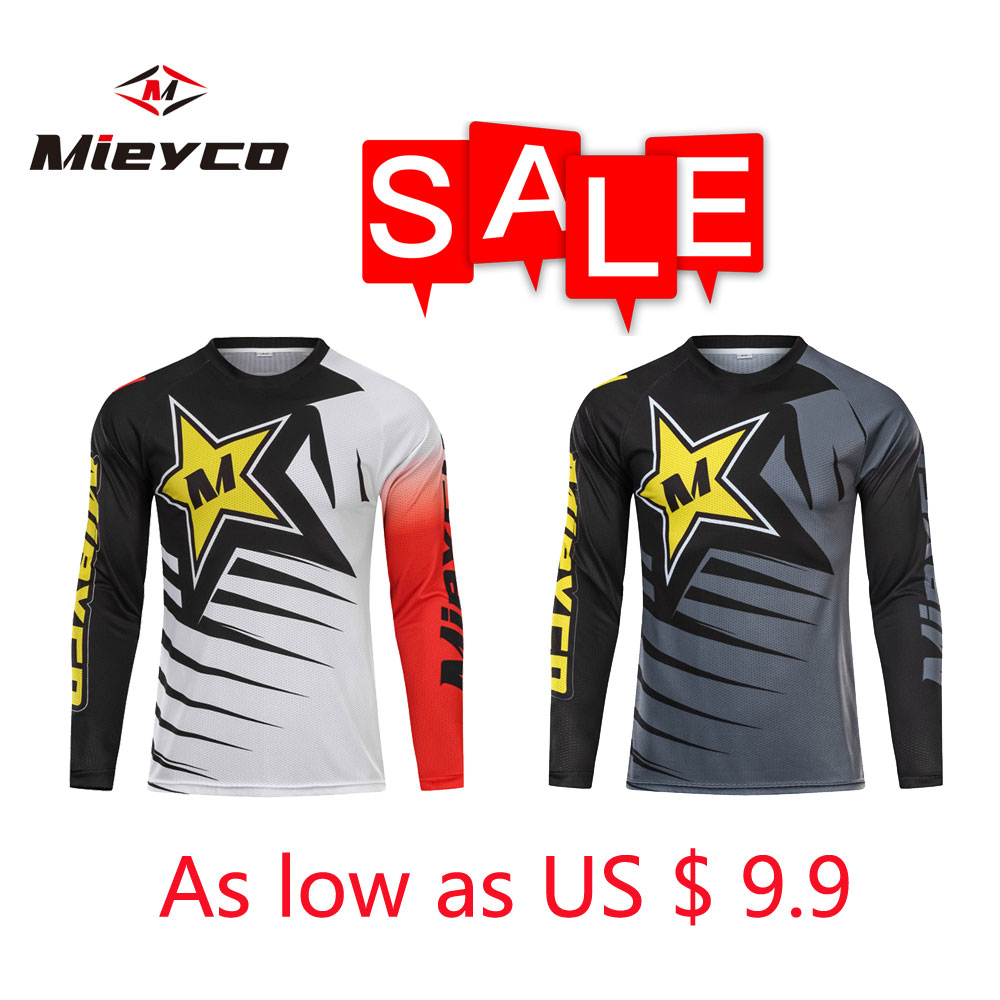Mieyco Men Pro crossmax moto Jersey mountain bike clothing MTB bicycle T-shirt DH MX cycling shirts Offroad Cross motocross Wear image