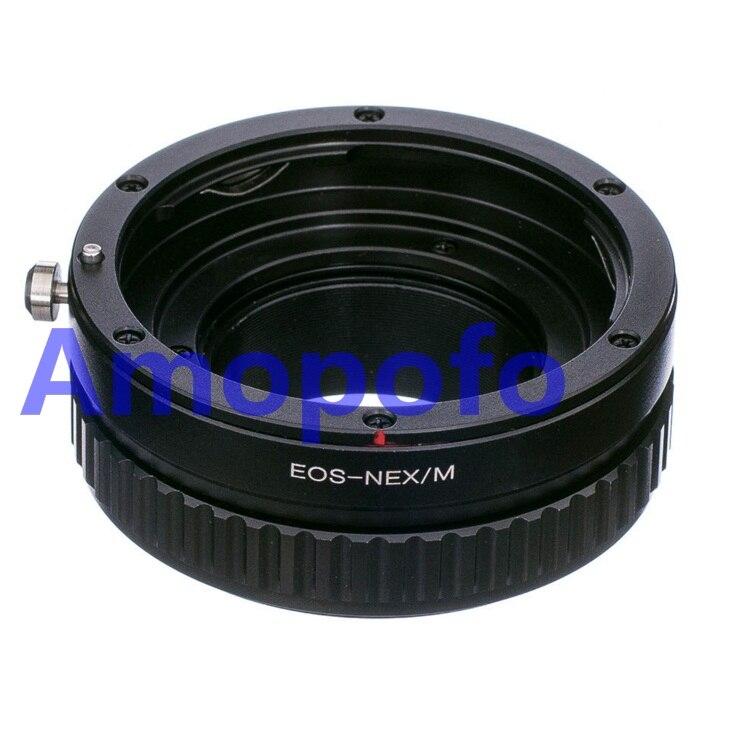 EF-NEX/M macro mise au point hélicoïdale Pour Canon EF EF monture pour Sony A5000 A3000 NEX-5T NEX-3N NEX-6 Caméra