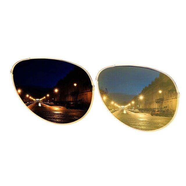 FORAUTO Anti-glare Car Drivers Night Vision Goggles Driving Glasses Copper Alloy Sunglasses Auto Accessories 5