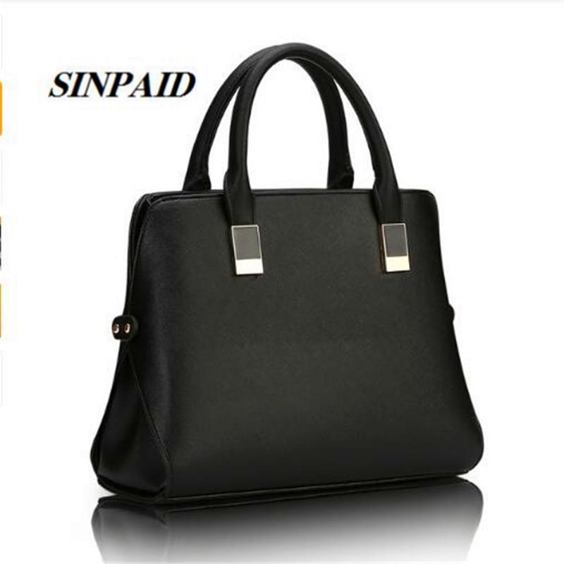SINPAID 2017 New Shell Casual High Quality Handbag Brief Women Business Shoulder Bags Cross-body Slim Female Bags Party Bag