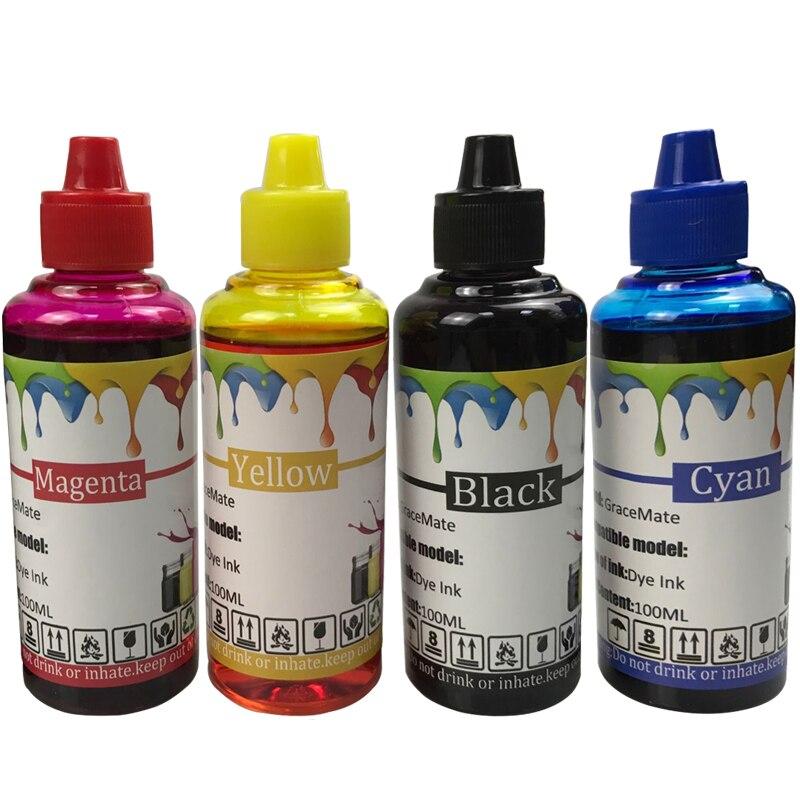 400ML Universal Refill Ink kit 129 134 for hp DeskJet 5940 5943 6940 6943 6983 Photosmart 2570 2573 8000 CISS Printer Ink