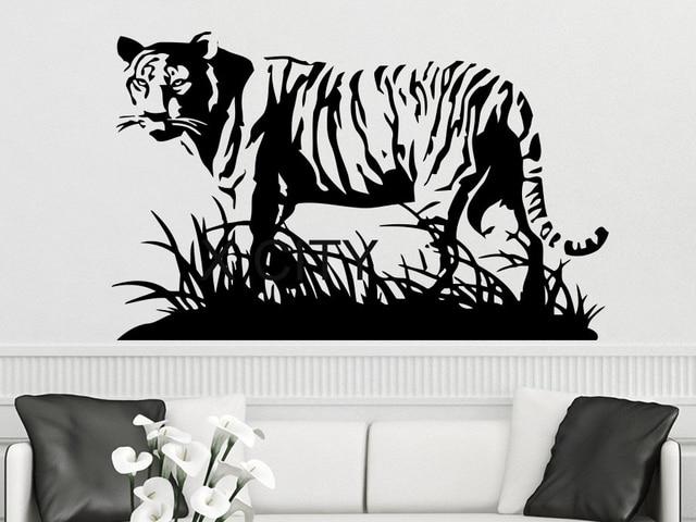 Wall Decal Tiger Vermin Hunting Vinyl Sticker Predator Animals - Vinyl stickers design