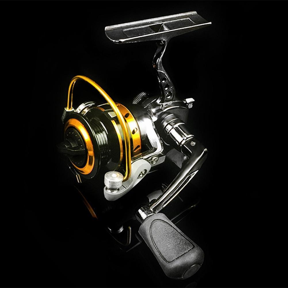 LumiParty Mini Portable Right/Left Swap Handed Fly Fishing Reel Super Light Fishing Raft Wheel