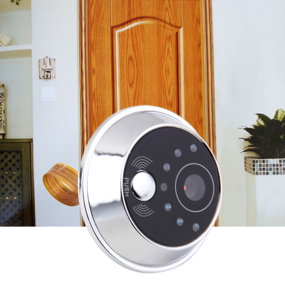 Trend Mark 2.4 Tft Lcd Screen Digital Eye Viewer Video Camera Door Phone,doorphone Monitor Speakerphone Intercom Home Security Doorbell Hardware