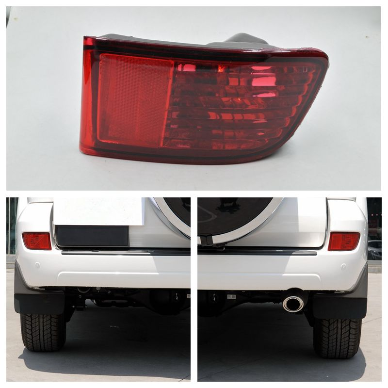 Cafoucs Rear Bumper Fog Light For Toyota Land Cruiser Prado 120 series GRJ120 TRJ120 FJ120 2002 - 2009 1 pc left side 81591 60130 without bulb rear bumper fog light lamp for toyota land cruiser prado fj120 2002 2009