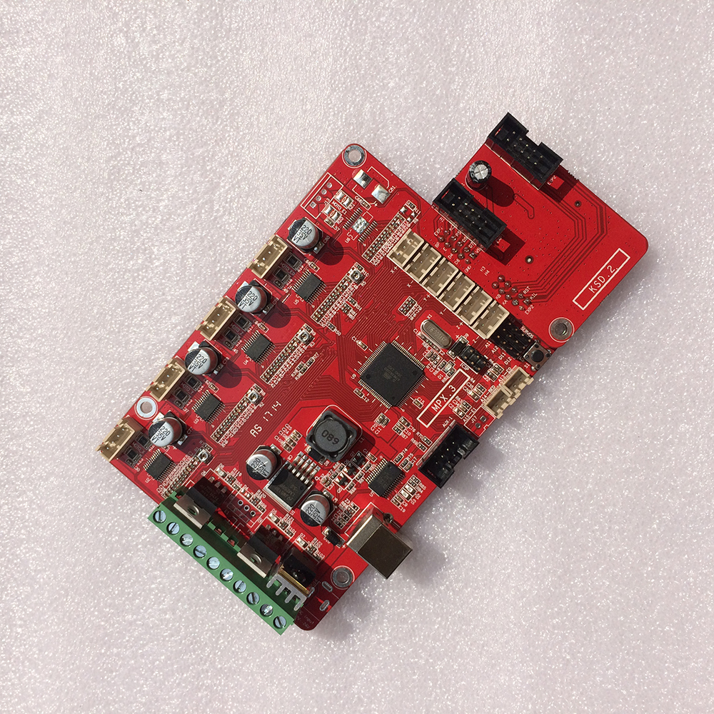 RepRap impresora 3D tablero de control de placa base placa base placa madre Comp