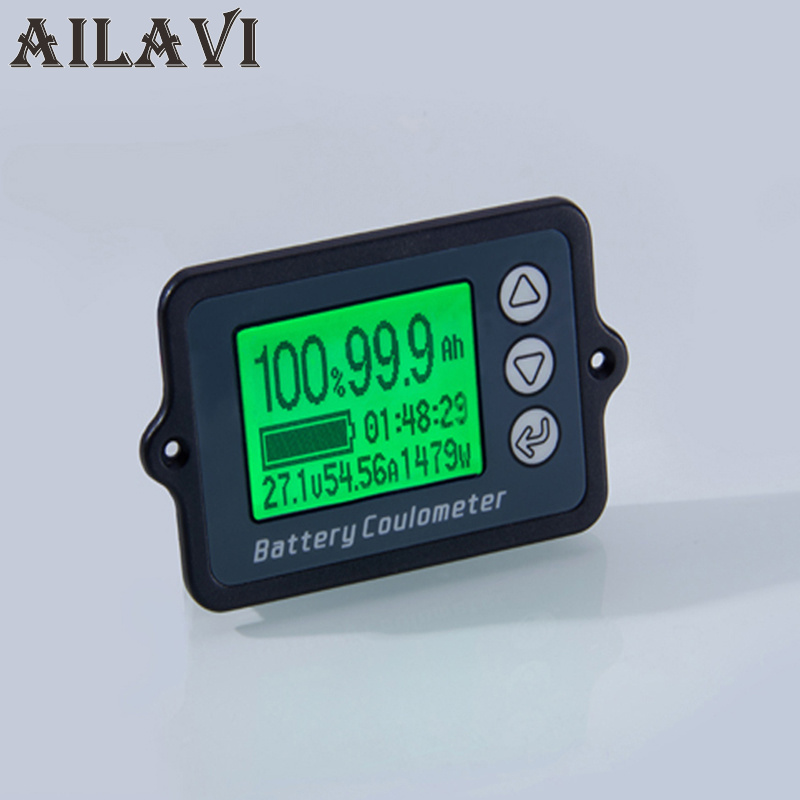 Ailavi DC 8-80V 100A Coulometer TK15 New Professional Precision Battery Tester for Lifepo4 Battery Coulomb Counter 50v 100a precise real capacity tester coulomb counter coulometer for lifepo4 lithium lipo liion battery 12000761