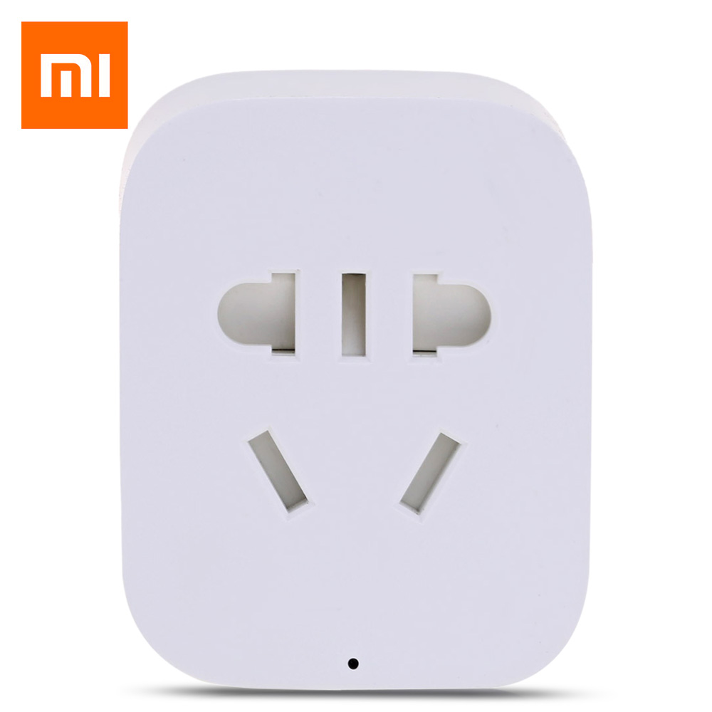 Original Xiaomi Mi Home Smart WiFi Socket APP Remote Control Timer Power Plug for Electrical Appliance wireless remote control power socket smart rf socket control power for home appliance compatible with g90b wifi gsm sms alarm page 8