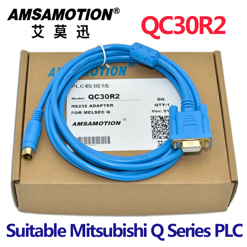 Serials Cable QC30R2 Suitable Mitsubishi Q Series PLC Programming CableSerials Cable QC30R2 Suitable Mitsubishi Q Series PLC Programming Cable