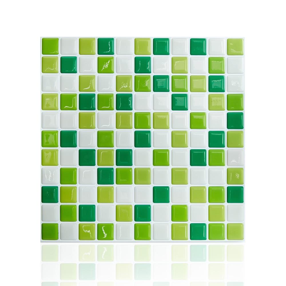 10 Quot X 10 Quot Peel And Stick Wall Tile Decorative Backsplash
