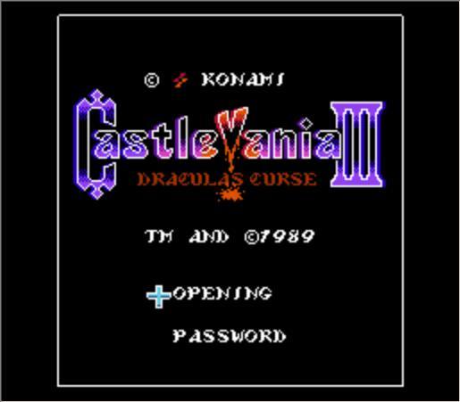 CastleVania 3 Inglês Cartucho de Jogo de NES Console